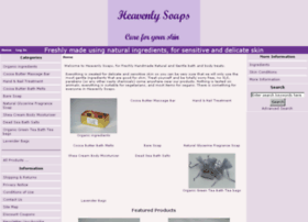 heavenlysoaps.co.uk