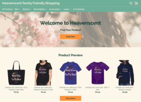 heavenscent.spreadshirt.com