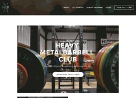heavymetalbarbellclub.com