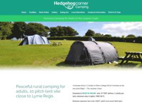 hedgehogcornerexclusivecamping.com