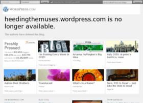 heedingthemuses.wordpress.com