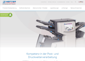hefter-systemform.com