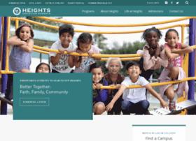 heightschristianschools.org