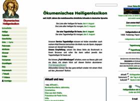 heiligenlexikon.de