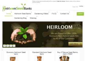 heirloomseedbanks.com