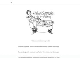 heirloomsoapworks.com