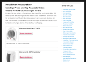 heizluefter-heizstrahler.de