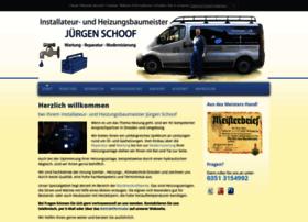 heizungsbau-schoof.de