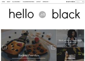 hello-black.blogspot.de