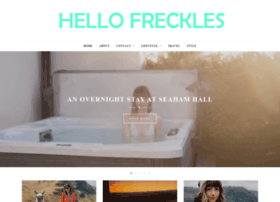 hello-freckles.com