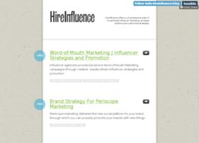 hello-hireinfluence-blog.tumblr.com