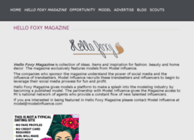 hellofoxymagazine.com