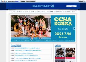 helloproject.com