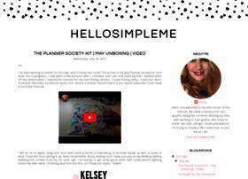 hellosimpleme.blogspot.com