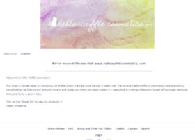 hellowafflecosmetics.indiemade.com