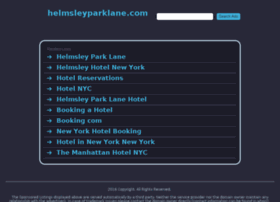 helmsleyparklane.com