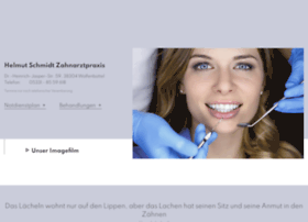 helmut-schmidt-zahnarzt.de