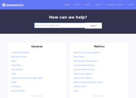 help.baremetrics.com