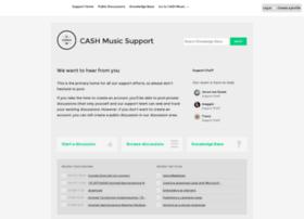 help.cashmusic.org