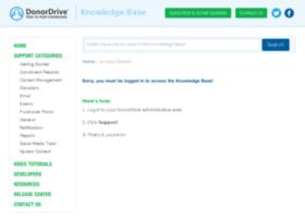 help.donordrive.com