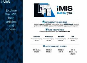 help.imis.com
