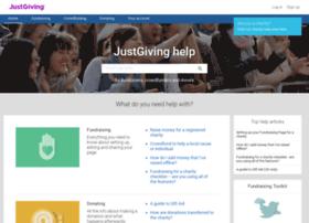 help.justgiving.com