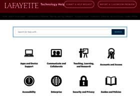 help.lafayette.edu