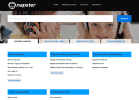 help.napster.com