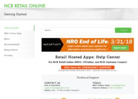 help.ncrretailonline.com