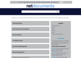 help.netdocuments.com