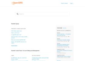 help.opensrs.com