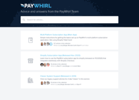 help.paywhirl.com