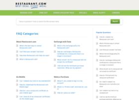 help.restaurant.com
