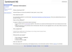 help.sentiment140.com