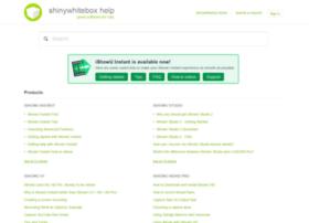 help.shinywhitebox.com