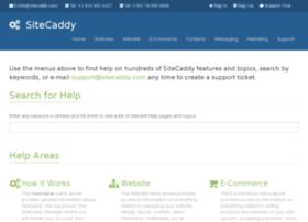 help.sitecaddy.com
