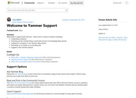 help.yammer.com