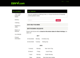help.zavvi.com