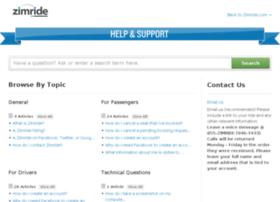 help.zimride.com