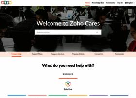 help.zoho.com