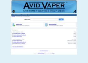 helpdesk.avidvaper.com
