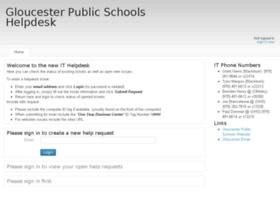helpdesk.gloucesterschools.com