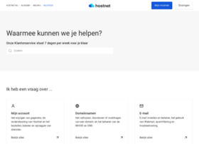 helpdesk.hostnet.nl
