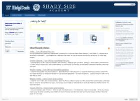 helpdesk.shadysideacademy.org