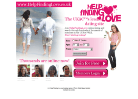 helpfindinglove.co.uk
