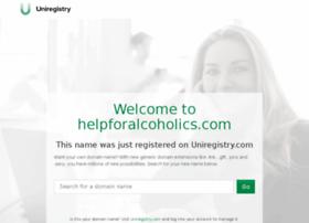 helpforalcoholics.com