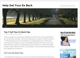 helpgetbackex.info