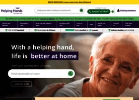 helpinghandshomecare.co.uk