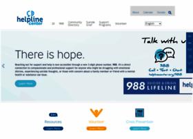helplinecenter.org