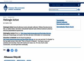helsinginkirkot.fi